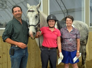 TROT Scholarship winner Abby NAME