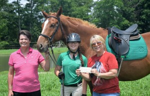 TROT Scholarship winner Shelby NAME