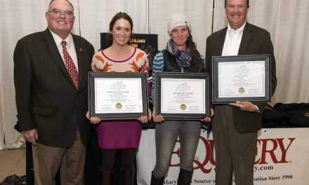 Thoroughbred Makeover Winners Earn Touch of Class