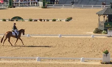 Little & Demeter ranked 3rd going into cross-country at Rolex KY 4*