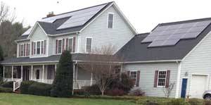 Jane Seigler of Dressage at Sundown leases the solar panels instead of buying them up front.