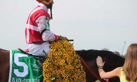 Go Maggie Go wins Black-Eyed Susan Stakes