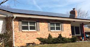 Louisa Emerick (Elkton) does not expect to see the full return on the panels placed on her home and barn for at least seven years from installation.