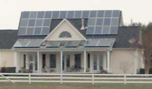 Steve Sisterman (Roundabout Farm) highly recommends the lease versus buy option for solar panels.