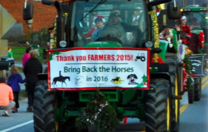 Merry Christmas! The horses are back!