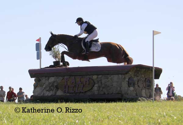 Marilyn Little & RF Demeter move into first place in the CCI3* at FHI