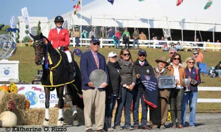 Marilyn Little's Big Fair Hill International Win