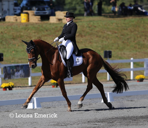 Marilyn Little & RF Demeter sit in second place in the CCI3*