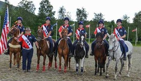 US Mounted Games Team
