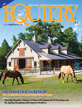 April 2017 Equiery cover