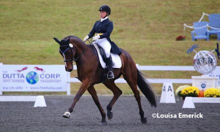 Rutledge in Second at FHI CCI3*