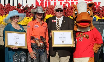 Ladies Mounted Shooting Champ wins Touch of Class