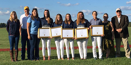 Polo Players Earn Touch of Class