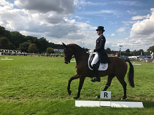 Burghley Horse Trials in England