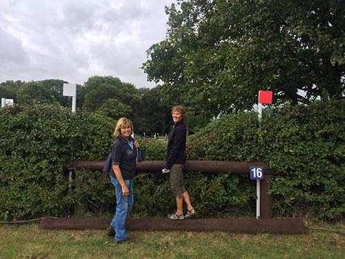 Gatcombe Horse Trials in England