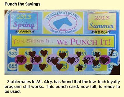 Retail Punch Card