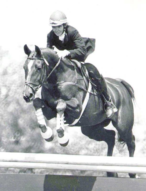 Anglo Mare Coreographer with owner Jean Gore