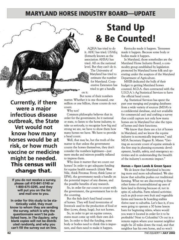 Equine Census