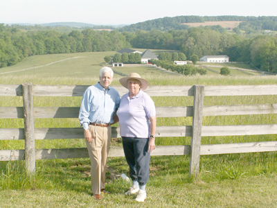 """MET was a natural partner for us because they shared our vision for the farm."" - Steve and Suzanne Quarles, Some Day Soon Farm"