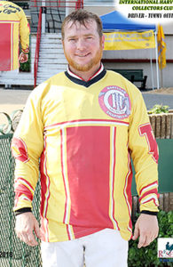 Driver Timmy Offutt's jersey for Kaisy Knott has received the highest bid donations as of press time.