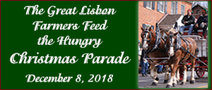 The Great Lisbon Farmers Feed the Hungry Christmas parade