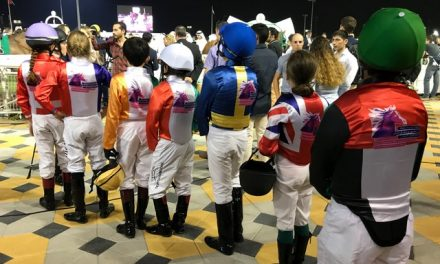Pony Jocks Race for Trip to Abu Dhabi