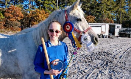Pony Clubber Wins Trail Competition