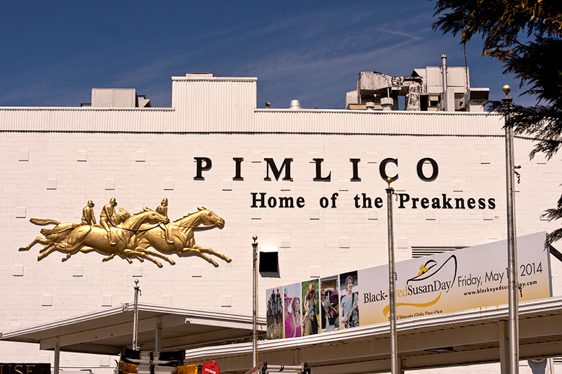 Portion of Pimlico grandstand will be closed for Preakness