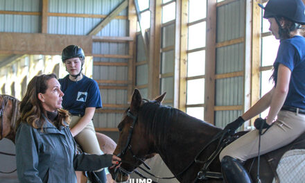 Iron Bridge Hounds Enjoy WIHS Clinic with Stacia Klein Madden